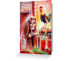 My Bloody Mary Greeting Card