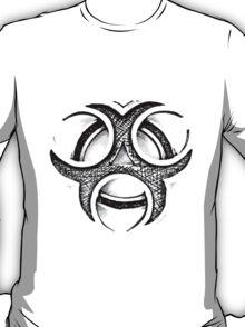 Biohazard Symbol. Zombie Apocalypse. Biohazard Circles. Nuclear Waste. Hazardous Materials. Danger Zone. T-Shirt