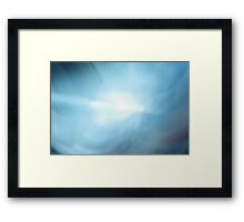 Abstract Water Design  Framed Print