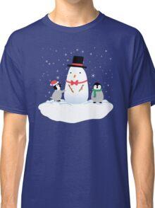 Snow Penguins Classic T-Shirt
