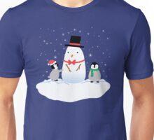 Snow Penguins Unisex T-Shirt