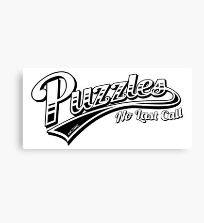 Puzzles Bar - How I Met Your Mother Canvas Print