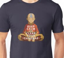 Keep Calm and Clear Your Chakras! Unisex T-Shirt