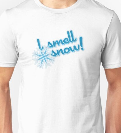 "Gilmore Girls - ""I smell snow!"" Unisex T-Shirt"