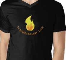 Lux Elementalist Fire Mens V-Neck T-Shirt