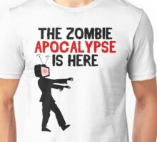 The Zombie Apocalypse Is Here - Funny Anti TV T Shirt Unisex T-Shirt