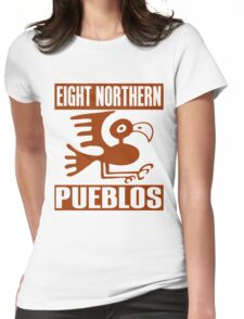 Eight Northern Pueblos Womens Fitted T-Shirt
