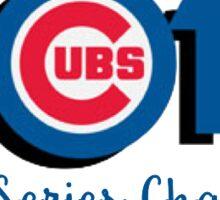 cubs 2016 world series Sticker