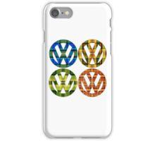 Volkswagen Plaid Patterns VW Logo Westfalia Bus iPhone Case/Skin
