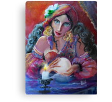 Fortunes by Candlelight Canvas Print