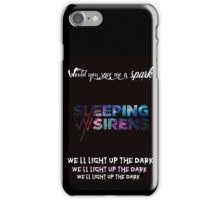 Sleeping With Sirens save me a spark iPhone Case/Skin