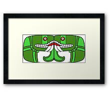 Aztec Goddess of Earth Framed Print