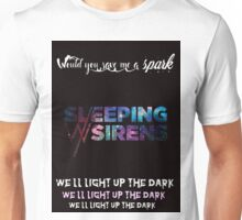 Sleeping With Sirens save me a spark Unisex T-Shirt