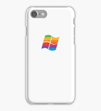 Retro Windows meets Apple iPhone Case/Skin
