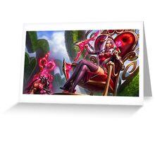 League Of Legends - Heartseeker Ashe Greeting Card