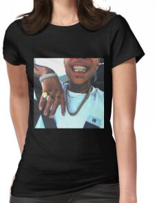 gold grill  Womens Fitted T-Shirt
