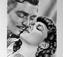 Gone with the Wind by IleanaHunterArt