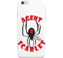 Agent Scarlet #8 Dub City iPhone Case/Skin