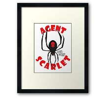 Agent Scarlet #8 Dub City Framed Print