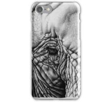 Elephant Pencil Drawing iPhone Case/Skin