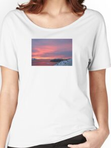 Antarctic Sunset Women's Relaxed Fit T-Shirt