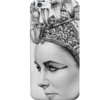 Elizabeth Taylor Portrait iPhone Case/Skin