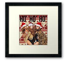 Haus of HO' HO' HO' Framed Print