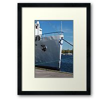 old steamer  Framed Print