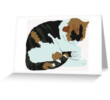Cozy Calico Greeting Card