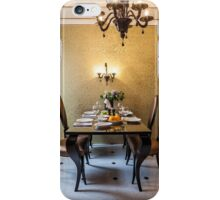 table setting awaits the guests iPhone Case/Skin