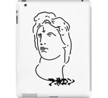 Reverse cross on Apollon mind shirt white iPad Case/Skin