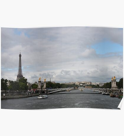 Paris Scyline Poster