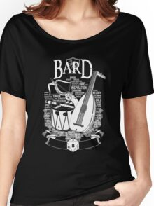 RPG Class Series: Bard - White Version Women's Relaxed Fit T-Shirt