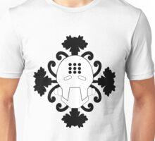 Pass Into the Iris - Zenyatta Inspired Apparel White on Black w/ Irises (UNOFFICIAL) Unisex T-Shirt