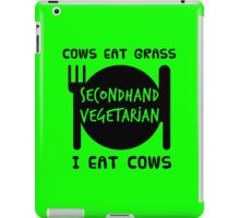 Second-Hand Vegetables iPad Case/Skin
