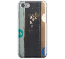 Mind Your Ps and Qs iPhone Case/Skin