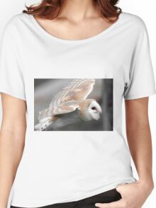 Fying Barn Owl Women's Relaxed Fit T-Shirt