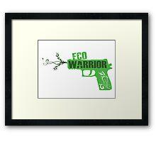 Eco Warrior - CS:GO P250  Framed Print
