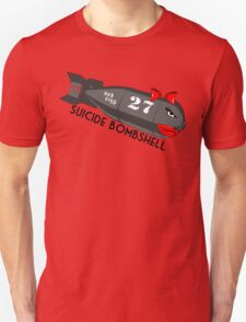 Suicide Bombshell #27 Dub City Unisex T-Shirt