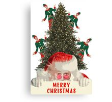 Merry Christmas from Jimmy and the gang! Canvas Print