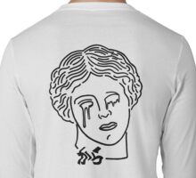 Aphrodite is a sad bitch shirt white Long Sleeve T-Shirt