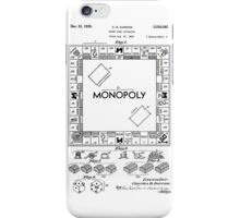 Monopoly Patent 1935 iPhone Case/Skin