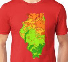 Physically Illinois Unisex T-Shirt