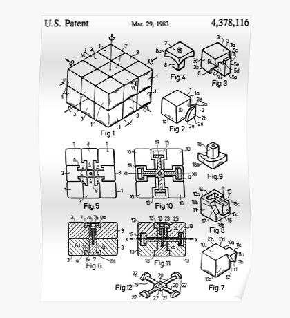 puzzle Patent 1983 Poster