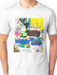 then and now Unisex T-Shirt