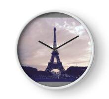 Eiffel Tower - Pastel Clock