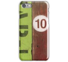 Touch of Green   HAR-14 iPhone Case/Skin