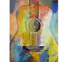 Guitar Melodies Photographic Print