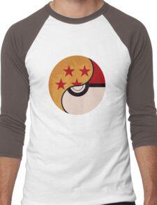 Pokemon Dragon Ball Fusion  Men's Baseball ¾ T-Shirt
