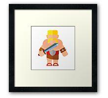 Barbarian Framed Print